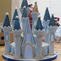 Cinderella's Castle For my friend's daughter - her 4th birthday. Thanks to other CC members for inspiration!