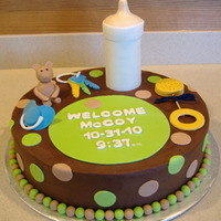 Green And Brown Baby Shower
