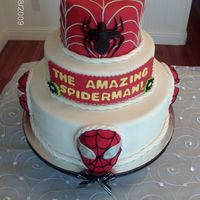 The Amazing Spiderman Cake!