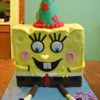Spongebob I made this for a friend this last weekend and I am pleased with how it turned out. I want to say thank you to Richiecakes for the...