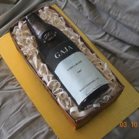 Gaja-Licious This was chocolate WASC with chocolate ganache and strawberry filling. This is a friends favorite bottle of wine and i though it would be...