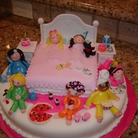Sleepover Cake Got this idea from Cakenut516. Thanks for the beautiful cake from which to follow! It was a lot of fun and took forever, but was worth it!...