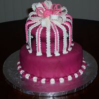 Just For Fun I did this cake with a wonderful friend of my who shares a passion for making cakes. All mmf