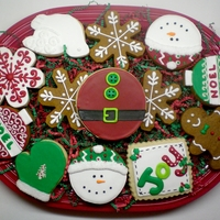 Christmas Cookie Mix Made a couple of these platters for a customer. She was pleased with them. Can't wait to receive feedback from the office she took...