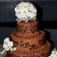 My Niece's Chocolate Wedding Cake