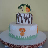 Jungle Theme 1St Birthday