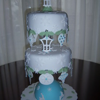 Christmascake With Ornaments