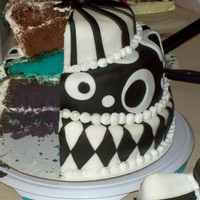 Wonky/topsy-Turvy/mad Hatter Cake - 2009-02-08