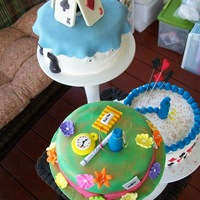 Alice In Wonderland Cake  - 2011-06-18