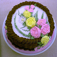 Flower Garden Icing for flowrs was too soft