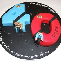 Star Trek 40Th Cake