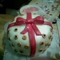 Present   This the other cake made with my friends right before Christmas!