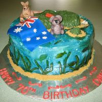 70Th Birthday Celebration Australia