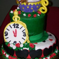 Mad Hatter Cake   much thanks for all the great ideas here on C.C.Thanks for Looking