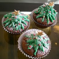 Treexmascuppy.jpg Xmas Tree cupcakes that were made as a tester /experiment thing after I saw a Tute on one of the websites, And they were coverted &...