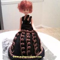 Southern Belle Mini Doll Cake ...