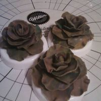 Gumpaste Roses I made these for my students so they can see what the roses out of Gumpaste with Gumtext really looks like, sometimes seeing it is easier...