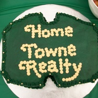 Real Estate Sign cake done in bc...a local real estate agency promotion. :)