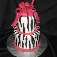 Zebra Stripes Inspired By A Cake Central Member