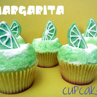 Margarita Cupcakes made with margarita jello mix and injected with some real margarita. Topped with lime buttercream. These are awesome!