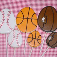Sports Eggs I am making Easter baskets for some boys that will have the sports eggs in them. NFSC with Antonia74 RI. I will be using the baskets that...