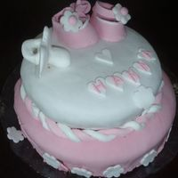 My First Fondan Cake For Baby Hanna