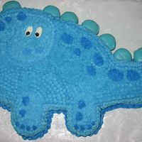 Dinosaur Stomp Josumiko was so generous in helping me with this cake. It didn't quite turn out as great as her's, but I think it's still...