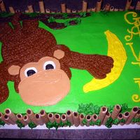 Monkey Business Reproduction of cake by pieceofcake20...