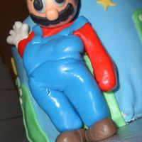 Super Mario I really wanted to post this cake under disasters. It was my last attempt at working with MMF figures. My next try combined MMF and...