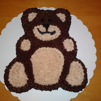 Children's Teddy Bear   This was made for the 1st prize in a raffle to raise money for a childrens charity. We raised over £270