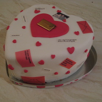 Proposal Cake  This was a very specific cake a good friend asked me to make for her partner's birthday who was a postman, and she'd ordered off...