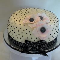 Polka Dot Posies Inspired by Peggy Porsches.