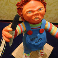 Chucky Cake This was made for a competition