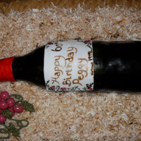 Wine Bottle Cake   wine bottle cake