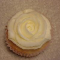 Cupcake W/ Rose Amy Sedaris Vanilla Cupcake recipe with Buttercream