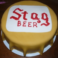 Stag Beer Bottle Cap
