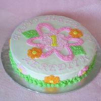 Flower Daisy Garden Party Cake