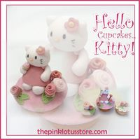 Hello Kitty Cupcake! Hi everyone!Before anything I would like to say thanks where thanks is due to: maimai16 (for inspiring me with her Hello Kitty design!) and...