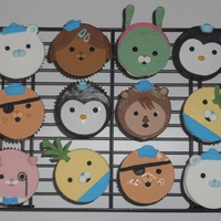 Octonauts Cupcakes! These went with the Octonauts Cake! TFL!