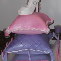 Princess Pillow Show Cake!