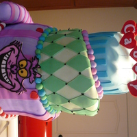 Mad Hatter Cake Mad Hatter Birthday Cake