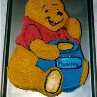 Winnie The Pooh Cake This was the first of my children cakes. I made this for my daughters first birthday (along with a mini pooh for her own to devour). It was...