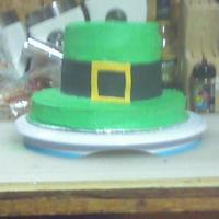 St. Patrick's Day i wanted to try a BC recipe i found on here, so i made this cake just for the icing.. ha ha. this pic if taken on my cell phone, so its not...