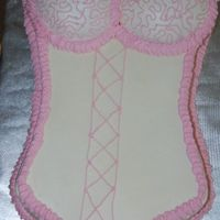 Lingerie Shower Cake Inspired from many cakes seen here on CC. I made an 11x15 sheet cake and carved the shape I desired. I used the ball pan, but cut most of...