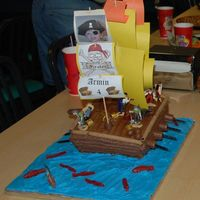 Dsc_5878_Resize.jpg Pirate Ship cake for my son's 4th birthday. Got the idea off of familyfun.com