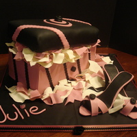 Julie's Shoebox Birthday Cake