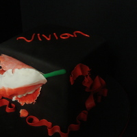 Vivian's Twilight Cake I made this for my niece's 10th birthday. She chose Twilight for her theme. I had planned to completely do the book covers as the...