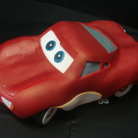 Lightning Mcqueen - Cars This was for our youngest nephew's birthday. This Lightning McQueen is from the first movie, when he finished fixing the road in...
