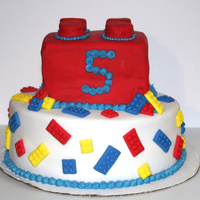 Lego Birthday Cake My sons 5th Birthday Lego cake