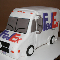 Fedex Cake Cake I did for Fedex.